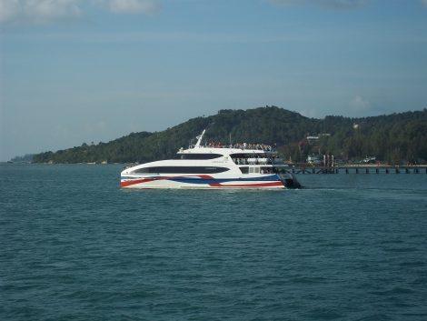 Lomprayah Ferry to Koh Phangan