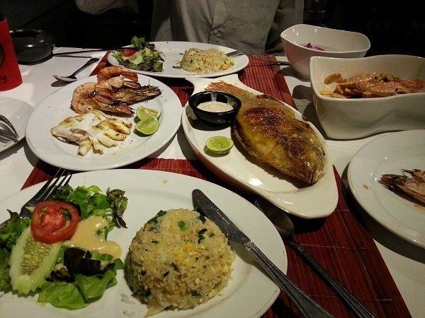 Set menu at Yin-Yang Restaurant
