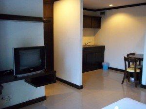 Boonjumnong Modern Apartments kitchen