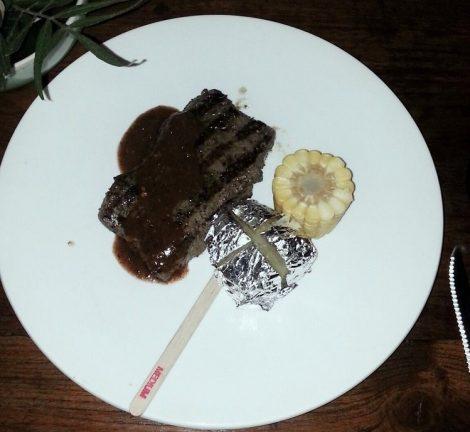 Pai Village Resort steak house grilled beef steak