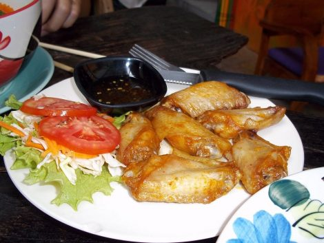 The Goodlife spicy chicken wings