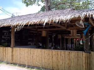 Seating Fisherman's Bar and Restaurant Koh Phangan
