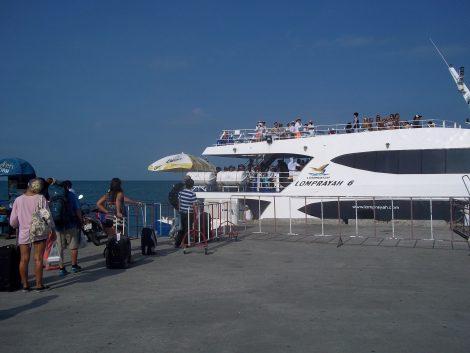 Lomprayah Ferry to Koh Tao