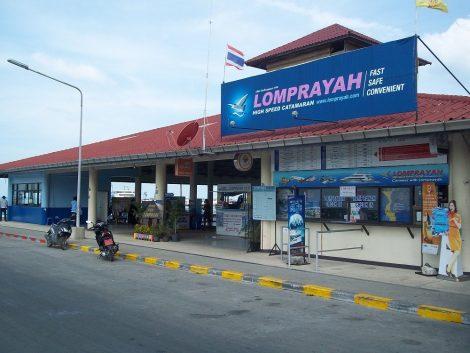 Na Thon Lomprayah Pier in Koh Samui