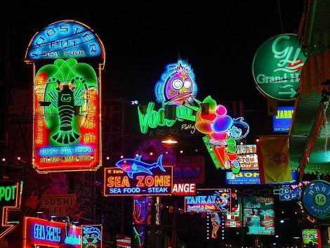 Pattaya is famous for its nightlife