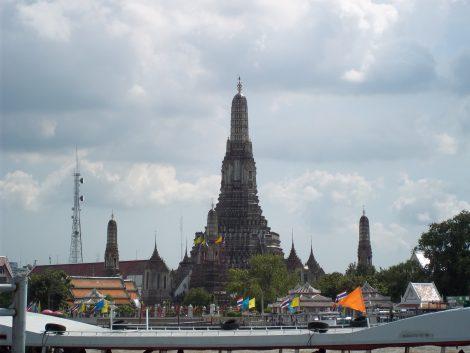 Wat Arun is a famous riverside temple in Bangkok