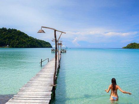 Koh Kood is best known for luxury resorts but also has budget accommodation