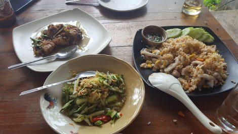 Food at Lae Lay Restaurant