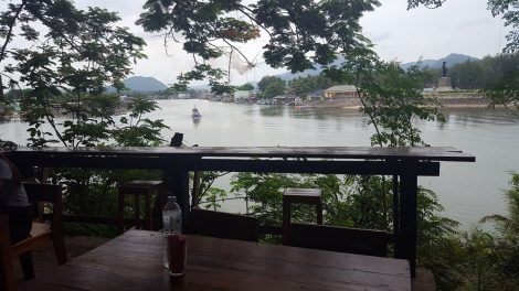 Lae Lay Restaurant overlooks a small fishing port