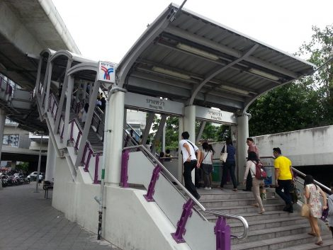 Bang Wa BTS station is the closest to Sai Tai Mai bus station