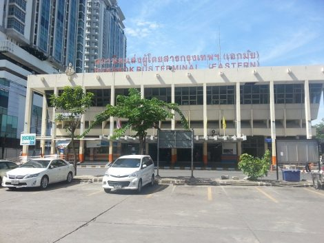 Ekkamai bus station is Bangkok's Easterm Bus Terminal