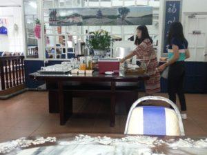 Krungkasem Srikrung Hotel breakfast buffet