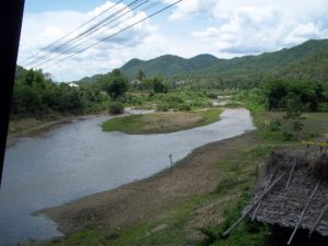 View from the Ta Pai Bridge in Pai