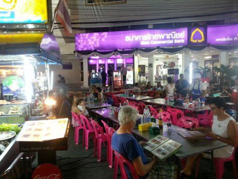 Seating at Duang Jai Restaurant