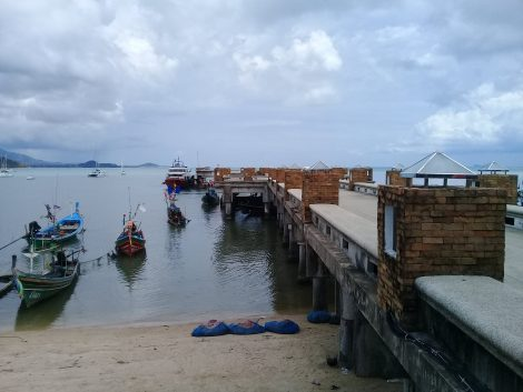 Seatran Discovery Ferry Pier in Koh Samui