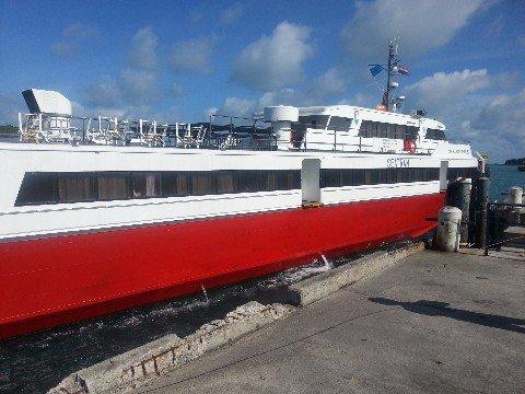 Seatran Discovery ferry to Koh Samui