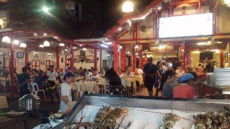 Restaurant in Hua Hin Night Market