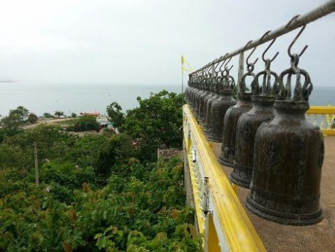 View from Wat Khao Takiab in Hua Hin