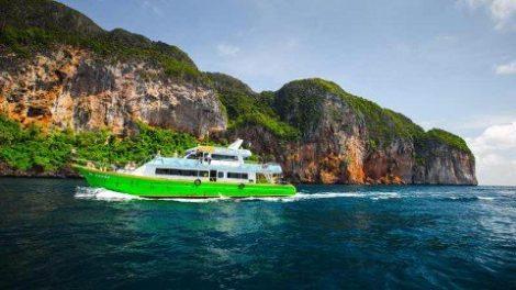 Chaokoh Ferry from Koh Lanta to Koh Phi Phi