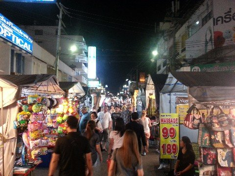 Hua Hin Night Market is a popular attraction for visitors to the city