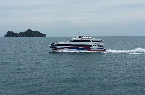 Lomprayah Ferry from Koh Tao to Surat Thani