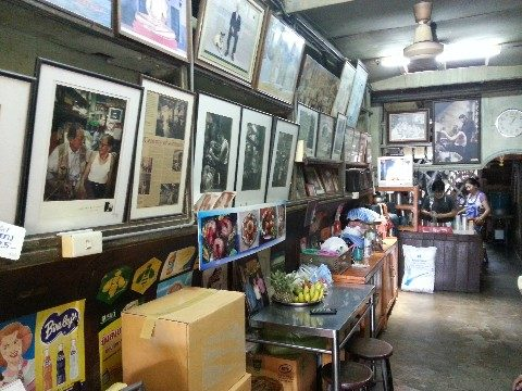 Mr Lee's coffee shop at Khlong Suan 100 Years Market