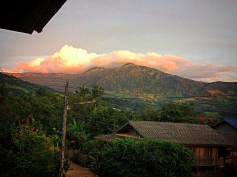Mountain view in Phayao