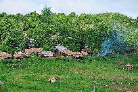 Mon Village near Sangkhlaburi