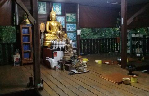 Shrine at Wat Thong Nang