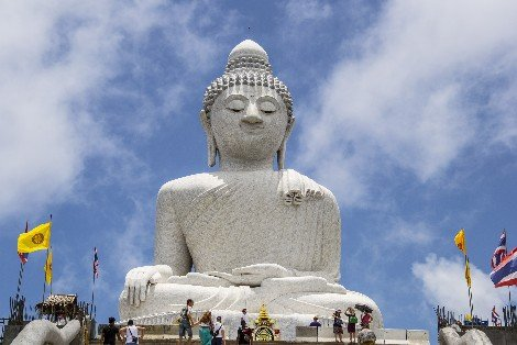 Big Buddha near Chalong in Phuket