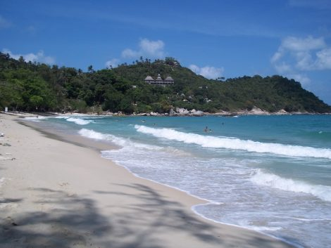 Northern half of Thong Nai Pan Noi beach