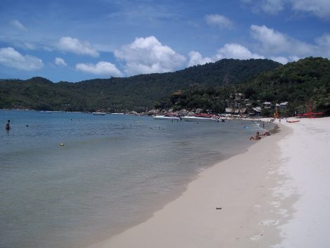 Southern end of Thong Nai Pan Noi beach