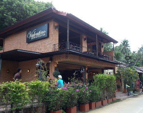 Valentino Restaurant & Bar in Thong Nai Pan Noi