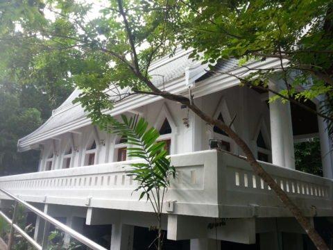 Ordination Hall at Wat Saunthamma Pala Nikrotharam