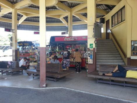 Shop at Nakhon Si Thammarat Bus Station