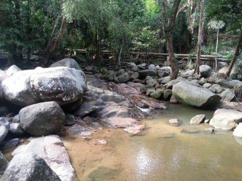Waterfall at Hin Lat