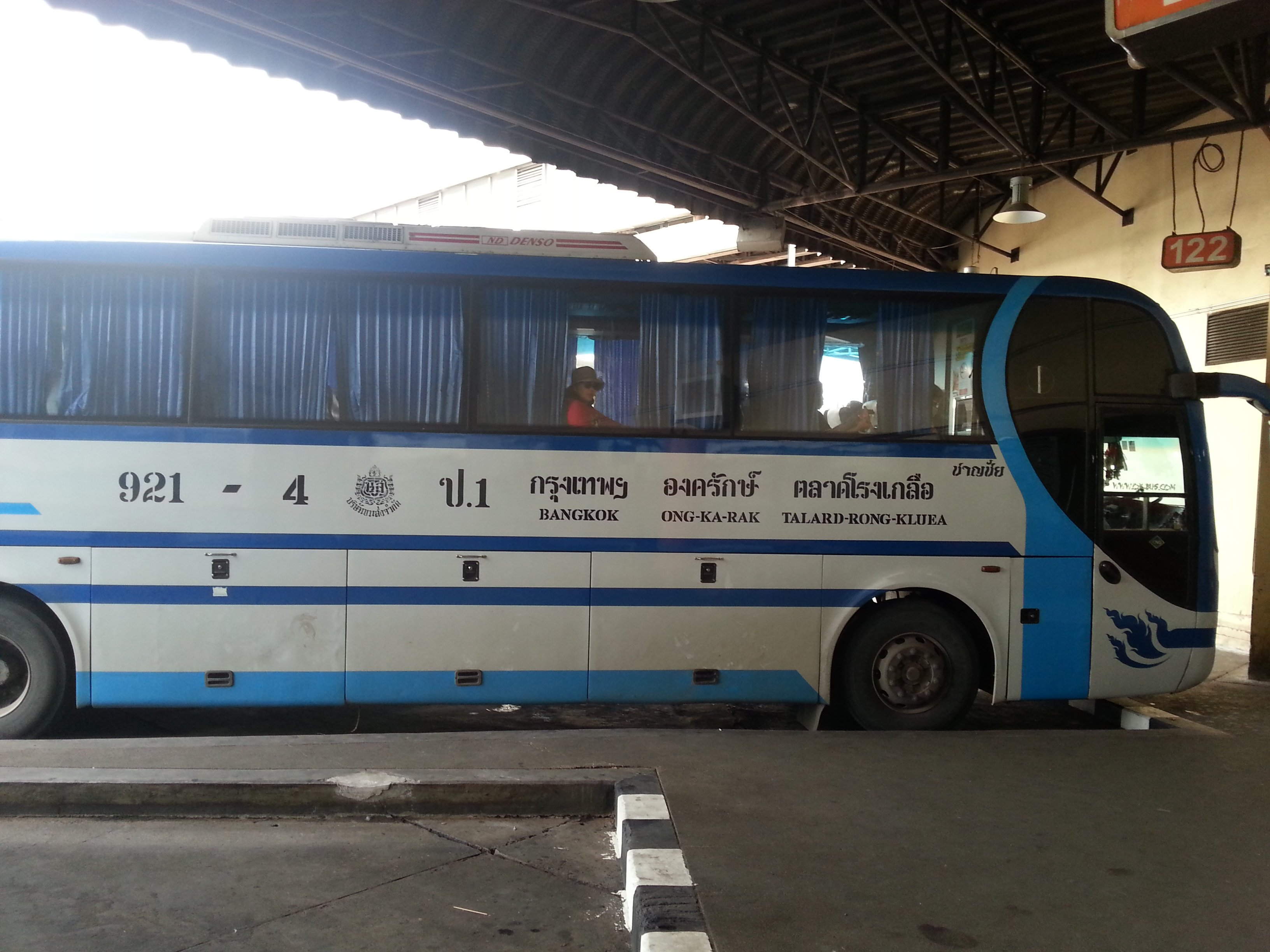 Bus to the Cambodian border