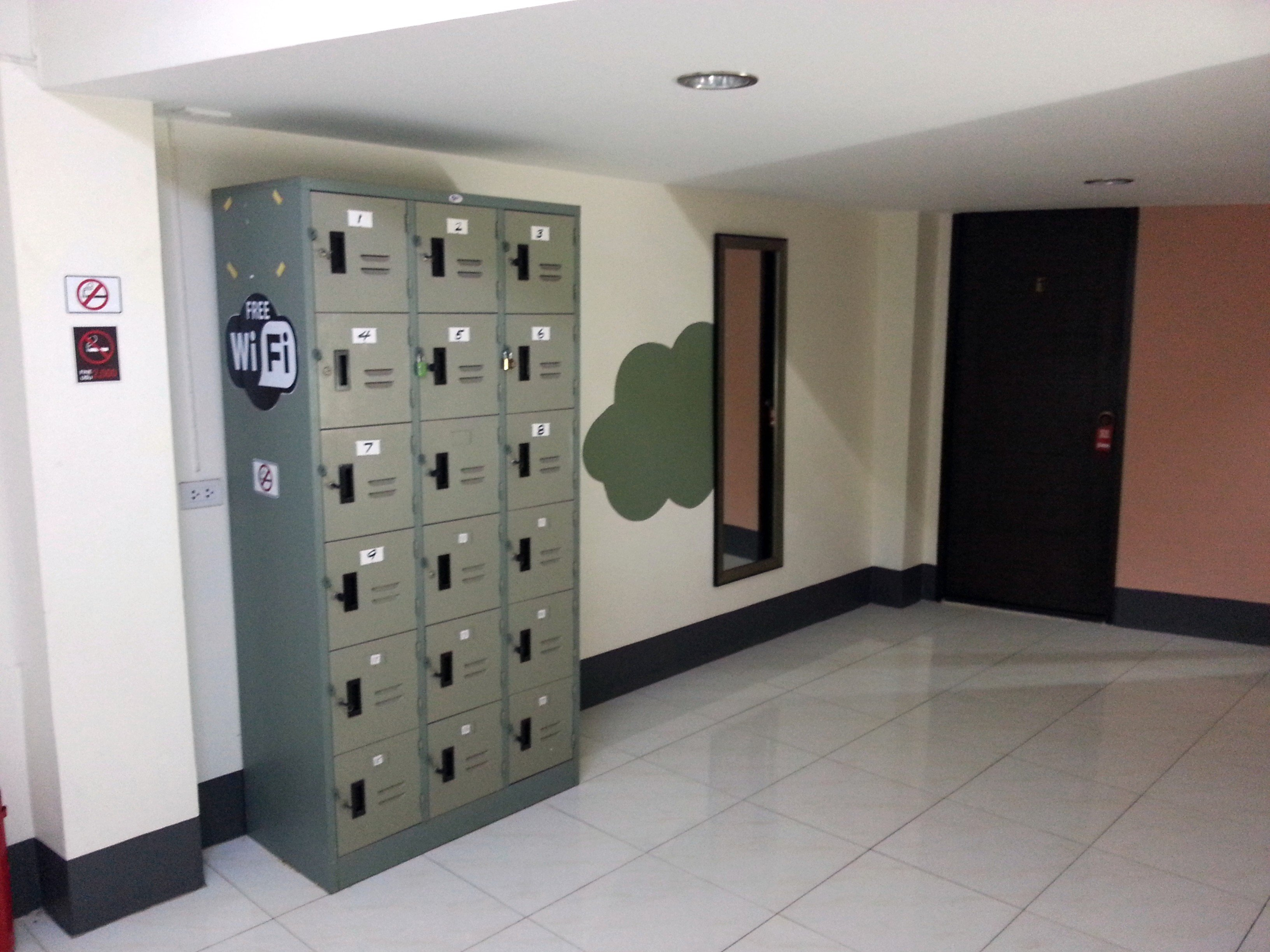 Lockers at the City Inn Udonthani