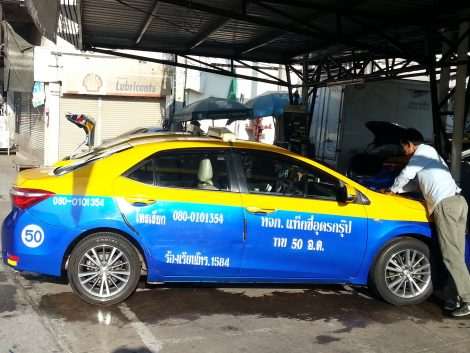 Taxi at Udon Thani Bus Terminal 1