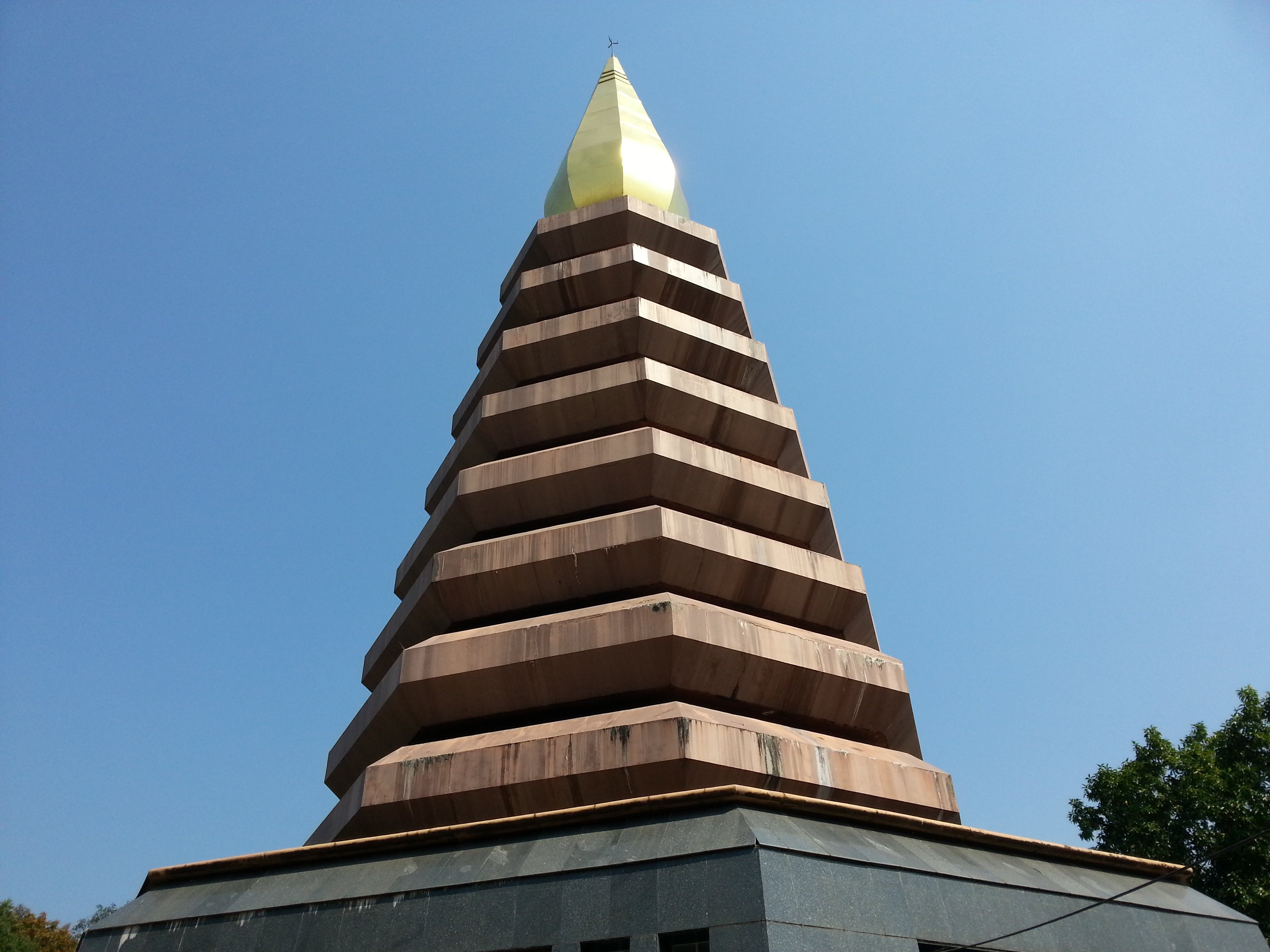 Chedi at Wat Phu Tok