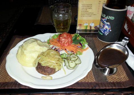 Danish food at the Good Corner Restaurant