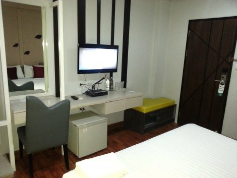 Room facilities at the SF Biz Hotel