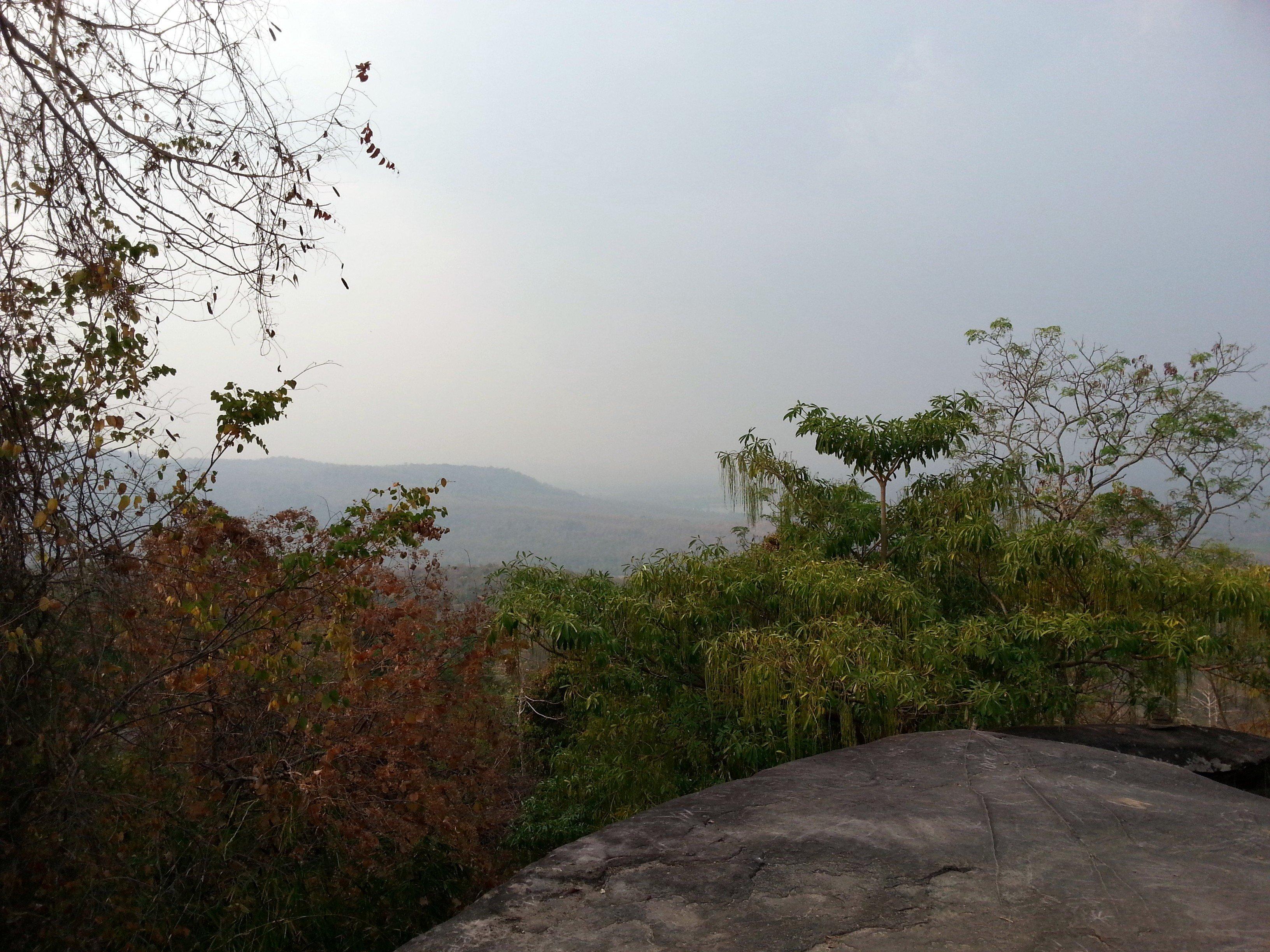 Viewpoint at Wat Tham Pha Daen