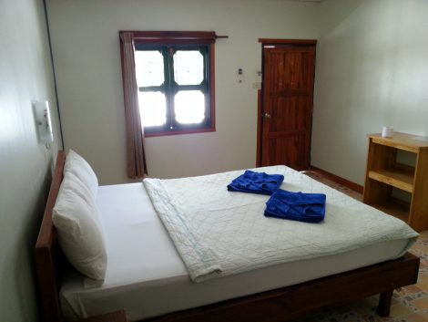 Bed at the Lux Guesthouse