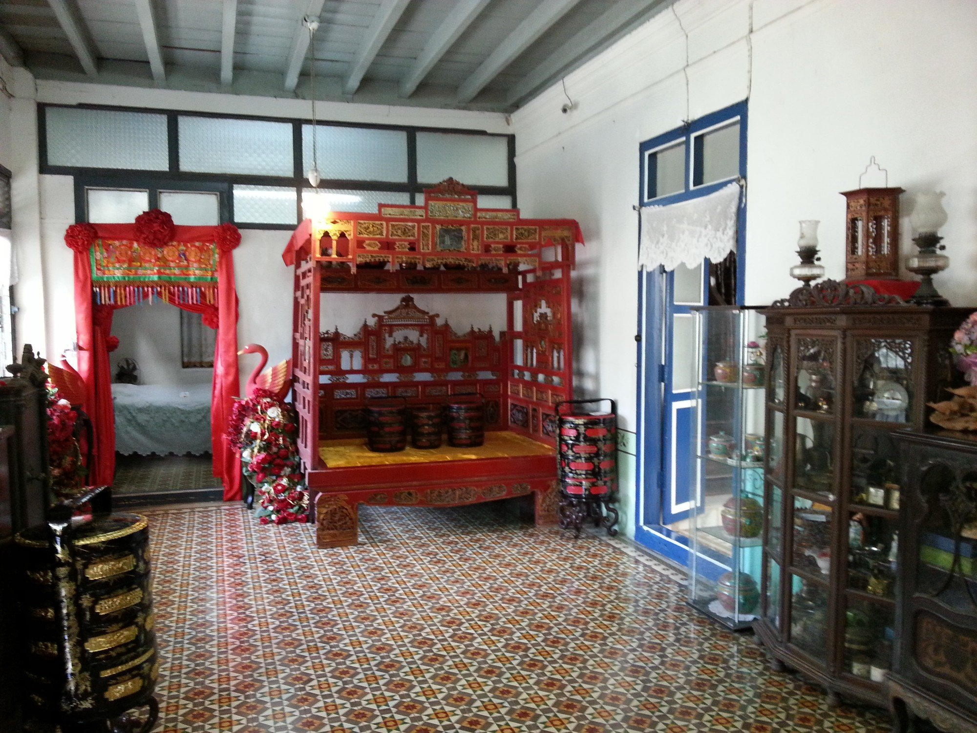 Bedroom in the Chinpracha House