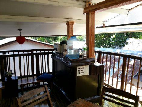 Free drinks at the Lantern Inn