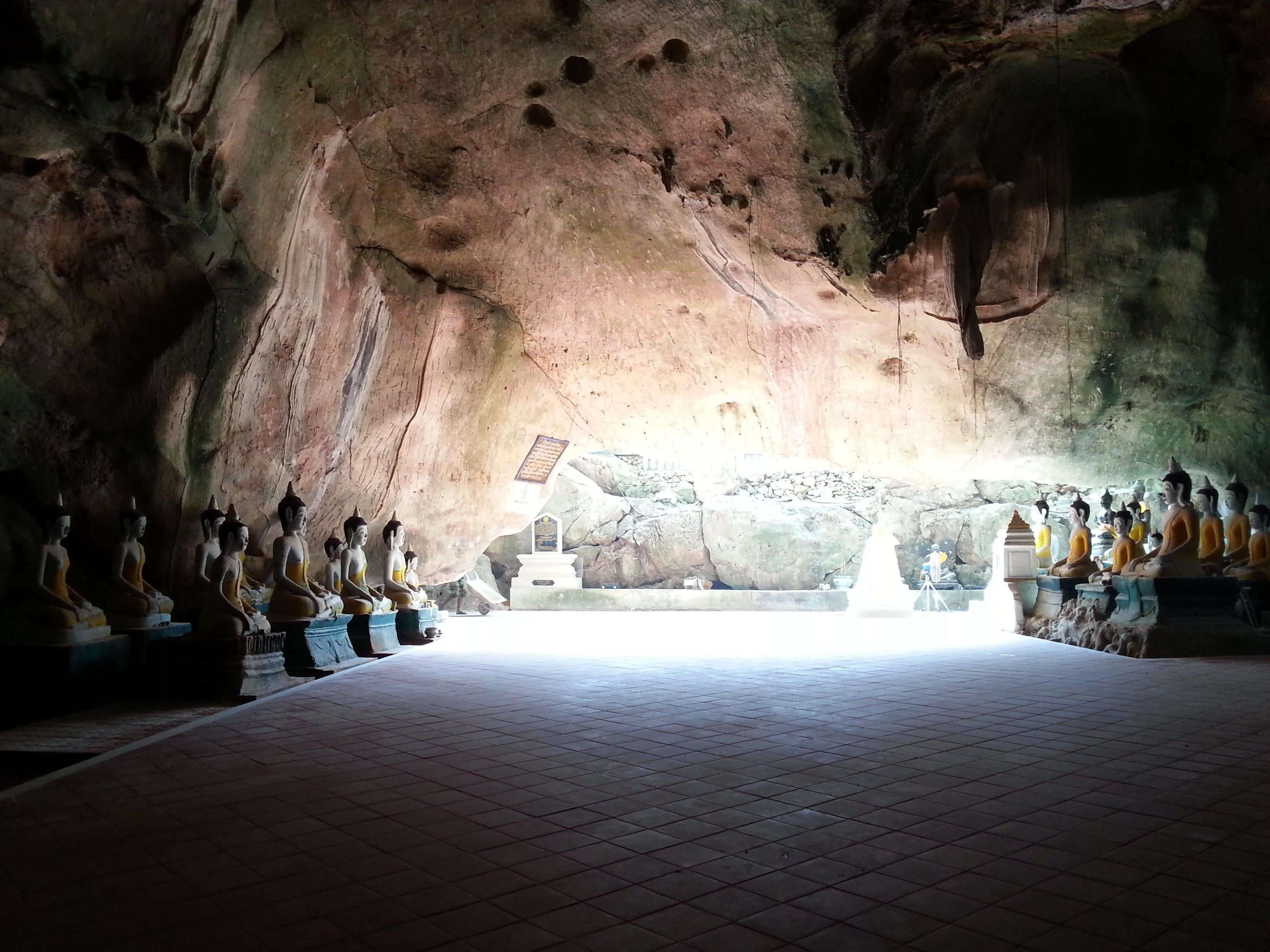 Khuha Sawan Cave in Phatthalung