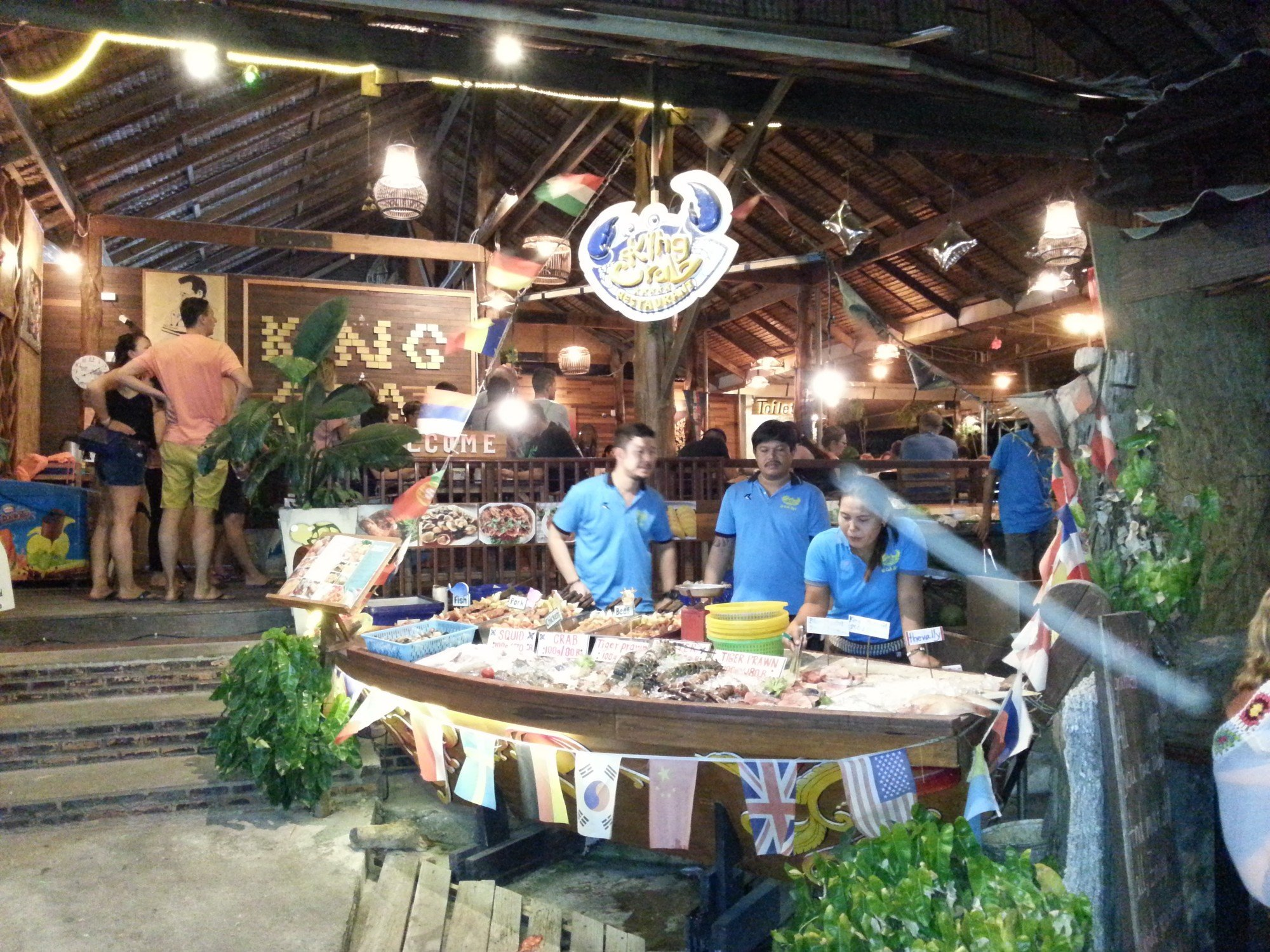 King Crab Restaurant on Koh Lipe Walking Street