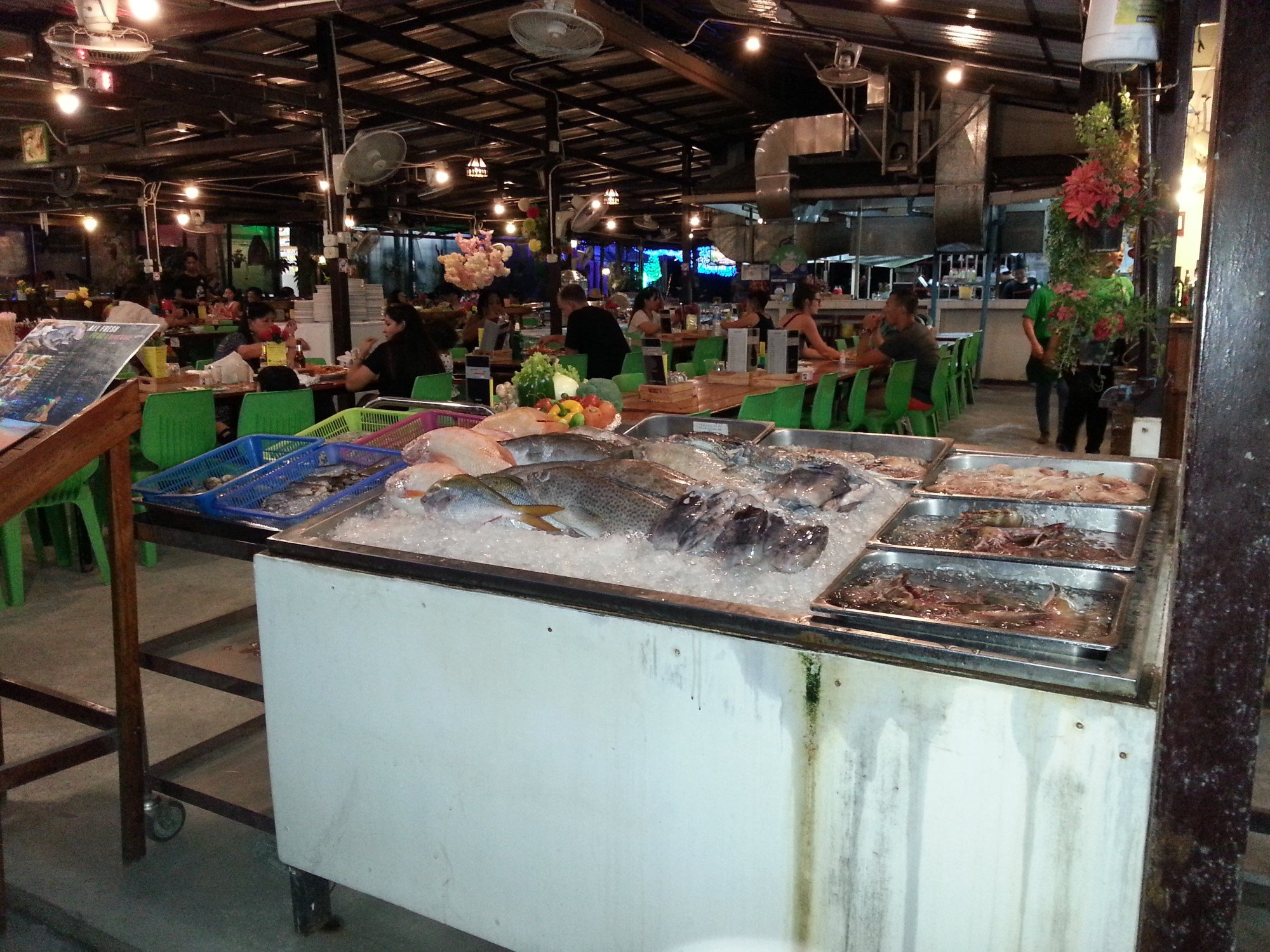 Progress Seafood Buffet on Koh Lipe Walking Street