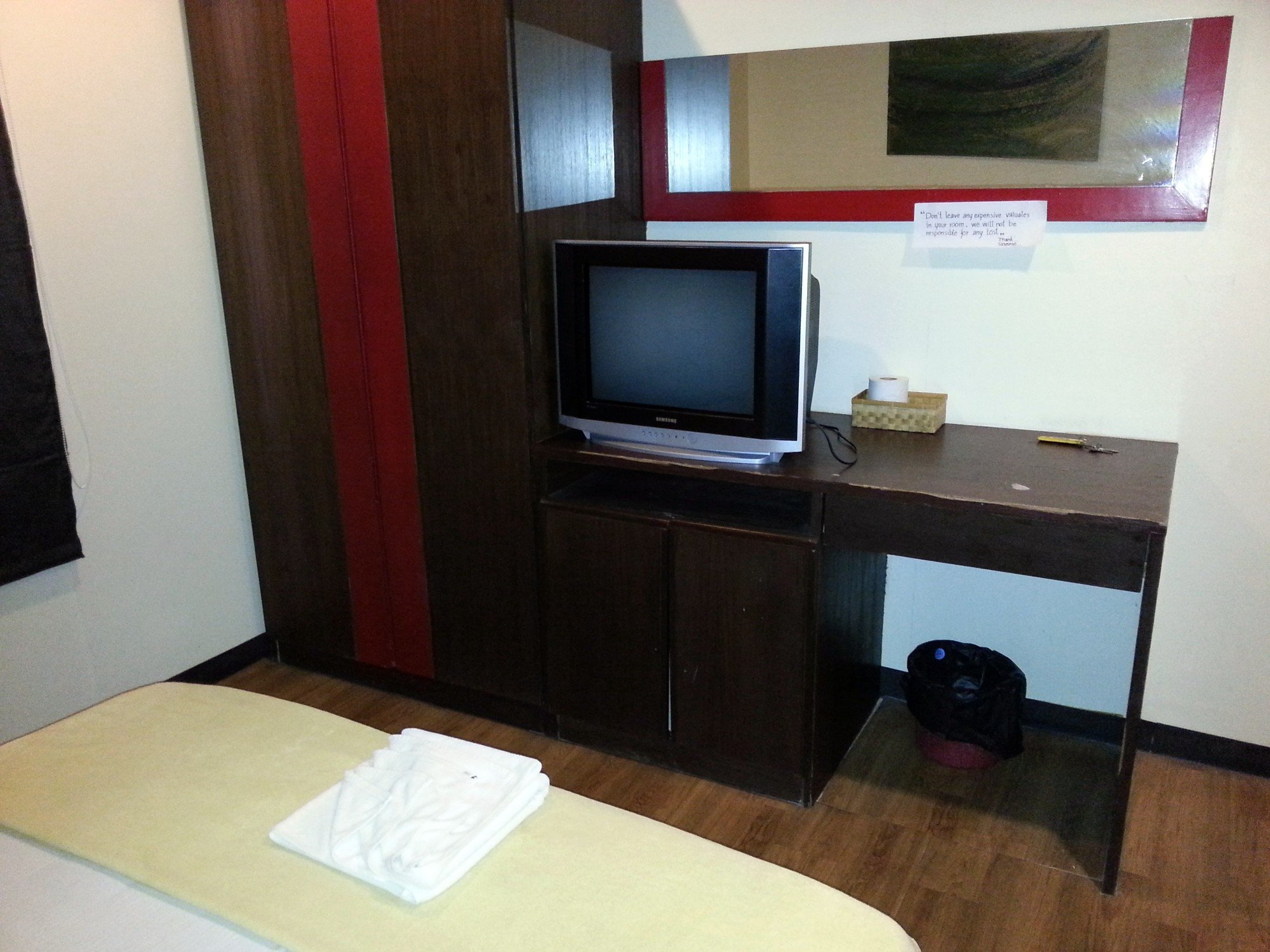 Room facilities at the Sincere Guesthouse